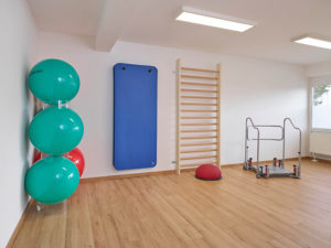 Theramedica Physiotherapiepraxis, Gymnastikraum