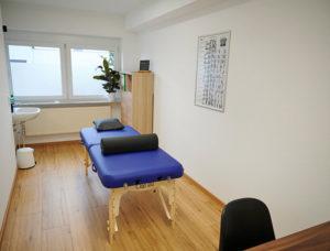 Theramedica, Behandlungsraum Heilpraktikerpraxis, Kinesiologie