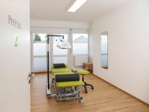 Theramedica Physiotherapiepraxis, Behandlungsraum Schlingentisch