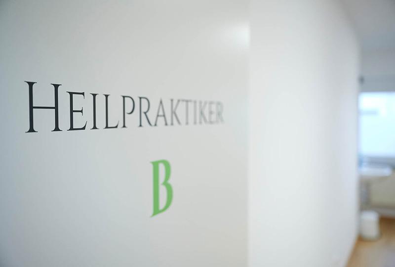 Behandlungsraum Heilpraxis Theramedica Fellbach-Oeffingen